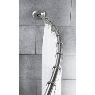 Smart Rods Curved Shower Rod - 2 Ways to Mount