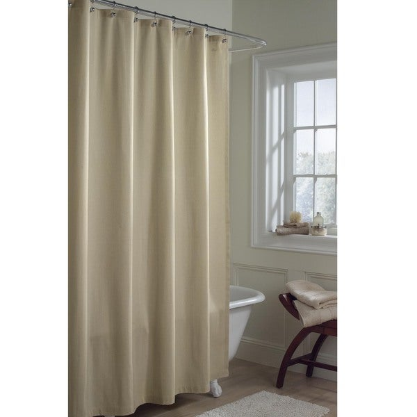Maytex Fabric Shower Curtain Liner - Free Shipping On Orders Over ...