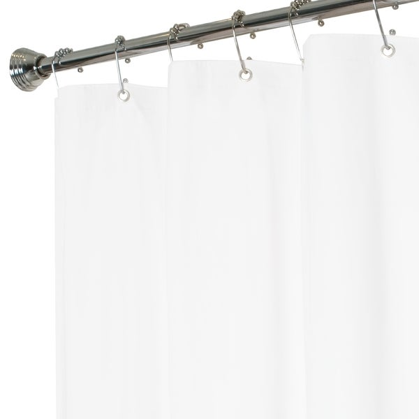 Maytex No Mildew Vinyl Shower Curtain Liner   Free Shipping On Orders Over  $45   Overstock.com   17129110
