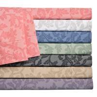 Home Styles Cotton Rich Damask Sheet Set