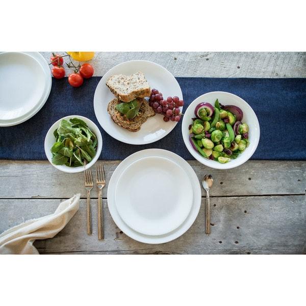 Corelle Livingware 18-piece Dinnerware Set (Service for 6)  sc 1 st  Overstock & Shop Corelle Livingware 18-piece Dinnerware Set (Service for 6 ...