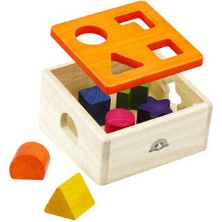 Wonderworld Toys Natural Shape Sorter
