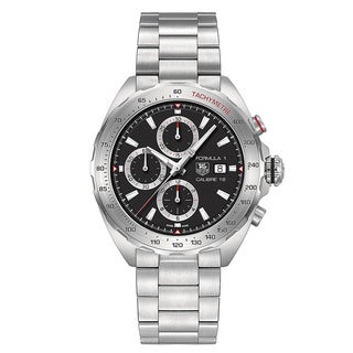 tag heuer watches overstock com the best prices on designer mens tag heuer men s caz2010 ba0876 formula 1 calibre 16 stainless steel