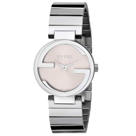 c8a5799ae00 Gucci Women s  Interlocking  Stainless Steel Watch