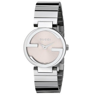 Gucci Women's YA133503 'Interlocking' Stainless Steel Watch