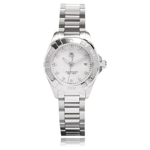 Tag Heuer Women's WAY1413.BA0920 'Aquaracer' Stainless Steel Watch