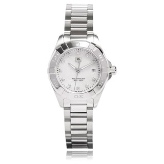 Link to Tag Heuer Women's WAY1413.BA0920 'Aquaracer' Stainless Steel Watch Similar Items in Women's Watches
