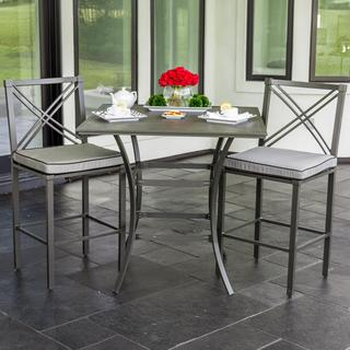 Audubon Aluminum 2-person Patio Bar Set
