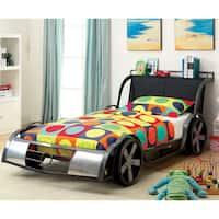 Furniture of America Born Racer Metal Twin Youth Bed