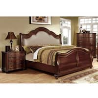Furniture of America Ceres II Brown Cherry 3-Piece Bedroom Set