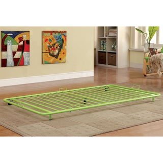 Furniture of America Linden Metal Twin Trundle (Option: Green)