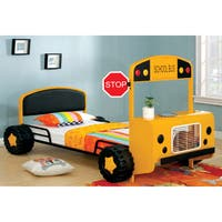 Furniture of America Elementary Bus Inspired Twin Bed