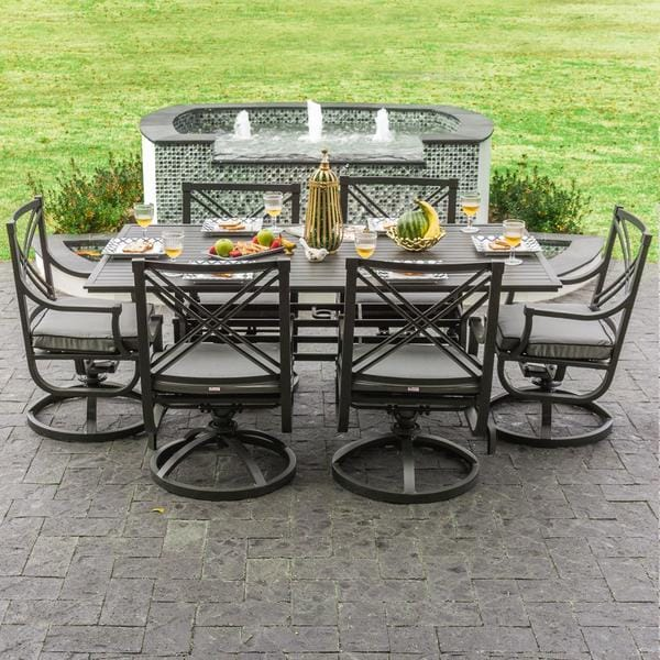 6 Chair Patio Dining Set 9 20 Hus Noorderpad De