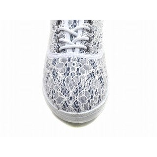 """Blue Womens """"Riley Doil"""" Fabric Sneakers"""