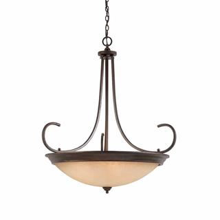 Lumenno Athens Collection 10-light Bronze Pendant