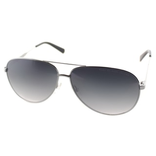 Marc by Marc Jacobs Unisex MMJ 444 6LB Ruthenium Metal Aviator Sunglasses