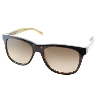 Marc by Marc Jacobs Unisex MMJ 360 /N 5WY Crystal Havana Plastic Square Sunglasses