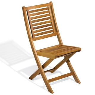 Oxford Garden Capri Folding Chair (Set of 2)