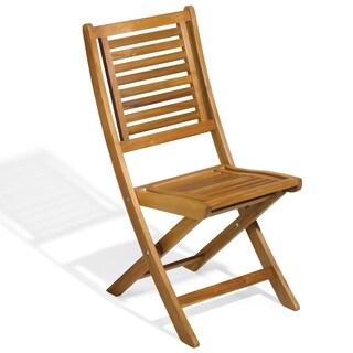 Oxford Garden Capri Folding Chair (Set of 2)