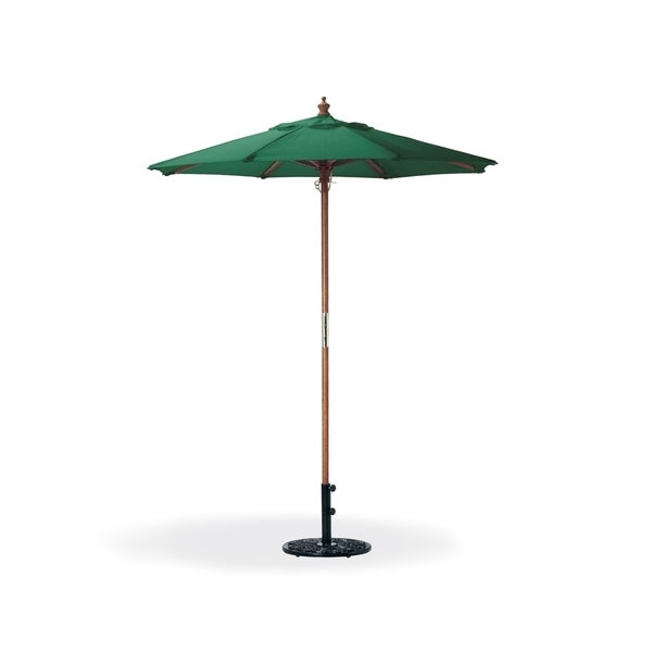 Oxford Garden Octagon 6 Foot Canvas Market Umbrella Free