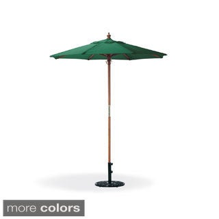 Oxford Garden Octagon 6-foot Canvas Market Umbrella