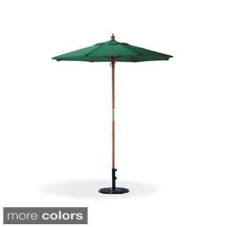 Oxford Garden Octagon 6-foot Canvas Market Umbrella