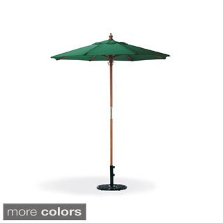 Oxford Garden Octagon 6 Foot Canvas Market Umbrella