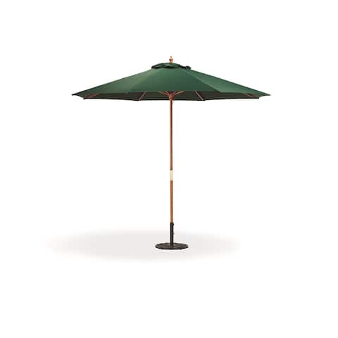 Oxford Garden Octagon 9-foot Canvas Market Umbrella