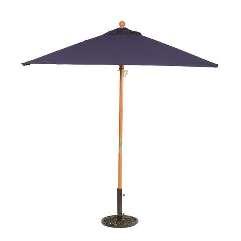 Buy Size 6 Ft Blue Patio Umbrellas Online At Overstock