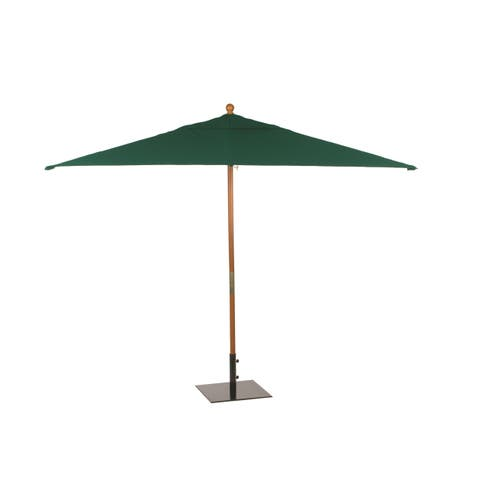 Oxford Garden Rectangular 10-foot Sunbrella Market Umbrella