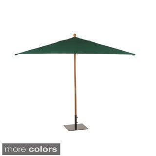 Oxford Garden Rectangular 10-foot Sunbrella Market Umbrella