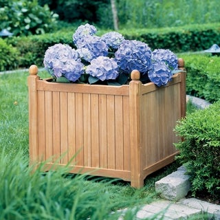 Oxford Garden Planters 28-inch Square Planter