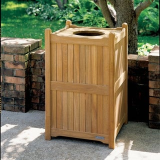Oxford Garden 22 inch Trash Receptacle