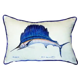 Sailfish 15x22-inch Indoor/Outdoor Pillow