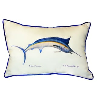 Blue Marlin 15x22-inch Indoor/Outdoor Pillow