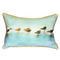 Avocets 15x22-inch Indoor/Outdoor Pillow