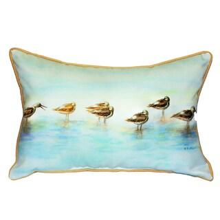Avocets 15x22-inch Indoor/Outdoor Pillow