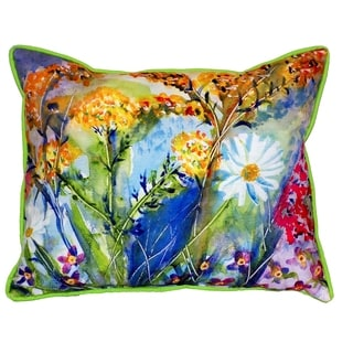 Wild Flower 16x20-inch Indoor/Outdoor Pillow