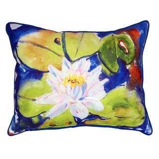 Lily Pad 16x20-inch Indoor/Outdoor Pillow