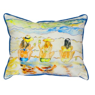Bottoms Up 16x20-inch Indoor/Outdoor Pillow