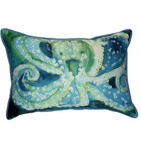 Octopus 16x20-inch Indoor/Outdoor Pillow