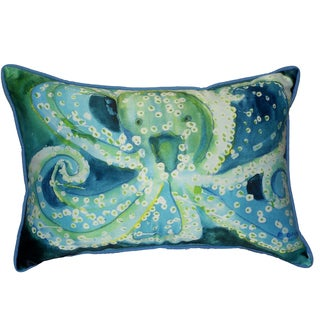 Octopus 16x20-inch Indoor/Outdoor Pillow