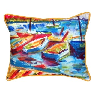 Betsy's Marina II 16x20-inch Indoor/Outdoor Pillow