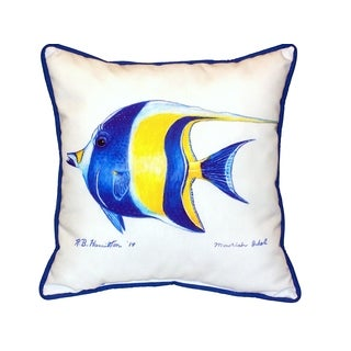 Moorish Idol 18-inch Indoor/Outdoor Pillow