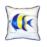 Moorish Idol 18-inch Indoor/Outdoor Pillow