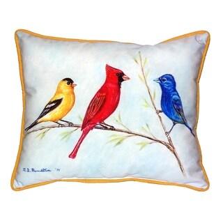 Three Birds 16x20-inch Indoor/Outdoor Pillow