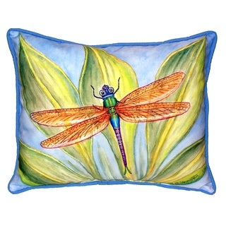 Dick's Dragonfly 16x20-inch Indoor/Outdoor Pillow