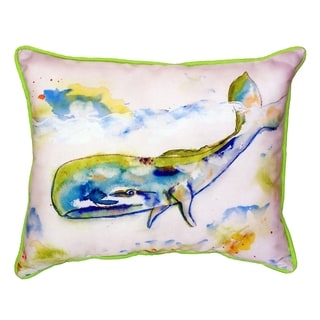 Whale 16x20-inch Indoor/Outdoor Pillow