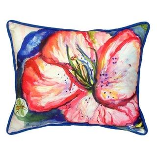 Hibiscus 16x20-inch Indoor/Outdoor Pillow