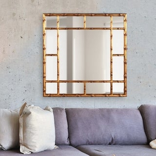Rainforest Mirror - Country Gold